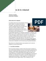 0019_Educar La Voluntad