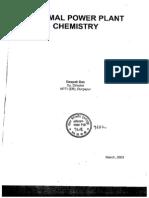 Thermel Power Plant Chemistry