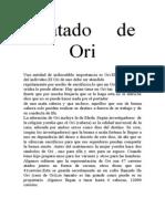 Tratado de Ori,