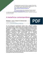 A metafísica contemporánea - Muito bom