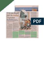 WealthRays in Hindustan Times