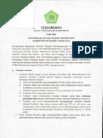 PendaftaranCPNS Kemenag(Rizky Catatanku)