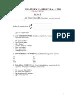 Examen Tema 5 Lengua