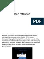 Teori Attention