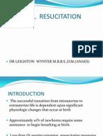 Neonatal Resucitation