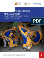 USAID- Tourism Destination Management- Achieving Sustainable and Competitive Results