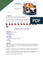 Bolo e Tarte de Cerejas