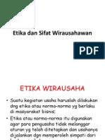 8. Etika Wirausaha
