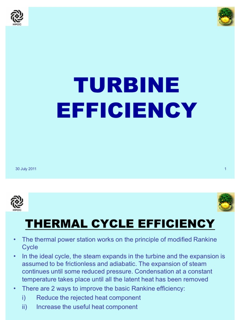 61259769 Turbine Efficiency | Gases | Physical Quantities