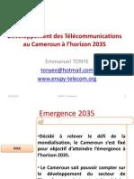 DéveloppementdesTélécommunicationsauCamerounàl_horizon 2035_Dortmund_18may_2012