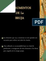 Instrumentos de Las Brujas