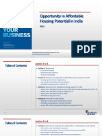 Opportunity in Affordable Housing Potential in India_Feedback OTS_2013