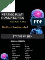 Vertigo Post Trauma Ppt