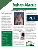 WKACC Newsletter March 09