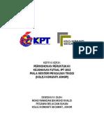 KERTAS+KERJA+FUTSAL+IPT+2012+(KKJOHOR)
