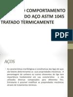 Apresentação - APS01 - Comportamento Mecânico dos Materiais