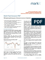 Markit Eurozone Flash PMI Sept 23 2013