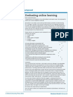 7 - Evaluating Online Learning