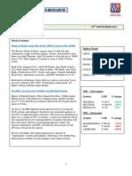 WealthRays - Markets @ Sep 23 2013