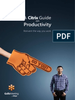 Citrix Guide on Productivity