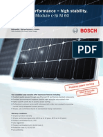 Bosch-C-Si M 60 Series Data Sheet