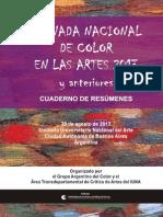 Color en las Artes 2013 y anteriores ÍNDICE Y PRÓLOGO CD-Rom
