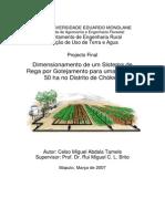 B10 Tamele Drip Irrigation (Final Full Report_portuguese)
