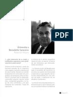 BIOGRAFIA 73-83_Entrevista a Benedetto Saraceno