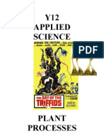 Plants Student Workbook