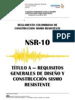 NSR-10_Titulo_A - Requisitos Generales de Construcción