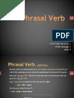 Phrasal Verb Show