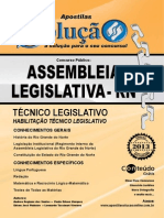 Solucao Assemb Legislativa RN