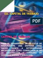 5 Capital de Trabajo