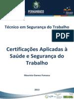 Caderno de ST(Certificações Aplicadas a Segurança do Trabalho)RDDI