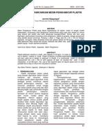Analisis Perancangan Mesin Pebghancur Plastik