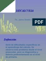 Discalculia escolar. Jaime Botello Valle