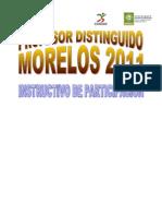 Instrc. Prof[1]. Disting 2011 Morelos