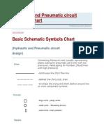 Hydraulic and Pneumatic Circuit Symbols Chart