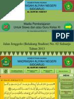 Al-Qur'an Hadits Kelas 11 SMA