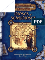 D D 3 ED.-dioses y Semidioses