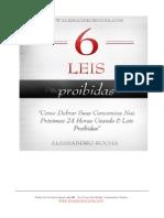 As 6 Leis Proibidas