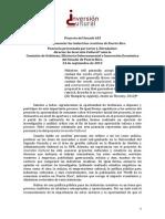 Ley de industrias creativas - Javier Hernández (Inversión Cultural)