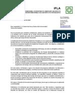 Carta Ifla AEP