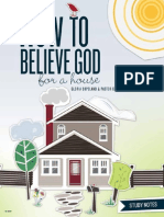 How to Believe God for a House Study Notes