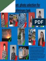 contact sheet- photo selection for preliminary task