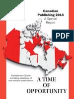 Canadian Publishing 2013