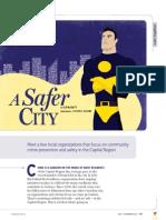 A Safer City - WE Summer 2012