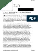 WTO myth