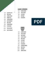 Talleres Infantil Jueves y Viernes 2013-14