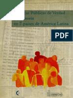 Politicas de Verdad en Am Latina
